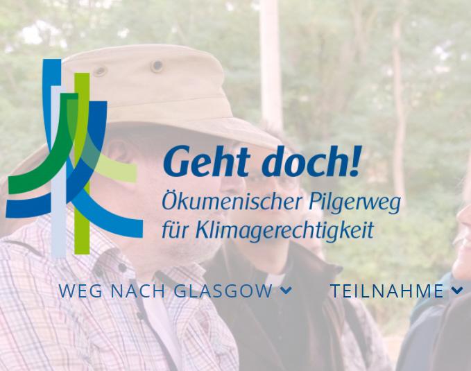GEHT DOCH! – Ökumenischen Pilgerweg nach Glasgow aktuell zwischen Bielefeld und Münster